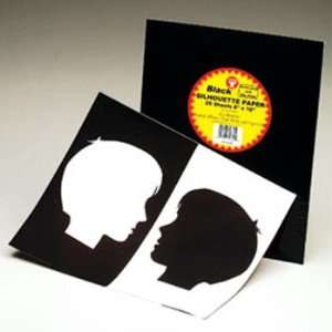 HYGLOSS PRODUCTS INC. SILHOUETTE PAPER 25 SHTS PER PK