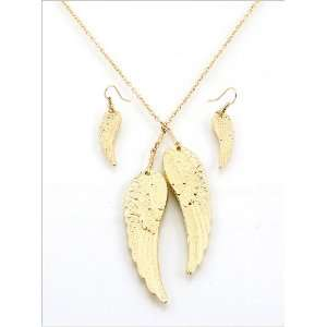 Fashion Jewelry Desinger Inspired Wing Necklace and
