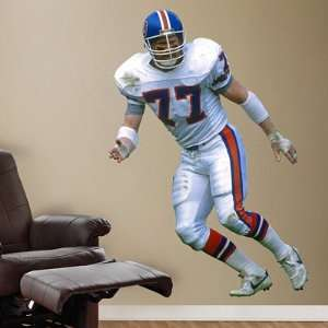 Karl Mecklenburg Denver Broncos NFL Fathead REAL.BIG Wall Graphics