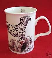 ROY KIRKHAM ENGLAND DOGS GALORE COFFEE MUG~F BONE CHINA