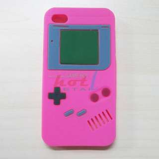 Soft Silicone Case Cover Protector Gameboy Game Boy F iPhone 4S