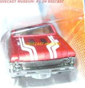 1968 68 CHEVY NOVA RED HOT WHEELS HW DIECAST 2011