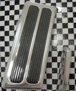 STREET RAT ROD THROTTLE GAS PEDAL ALUMINUM WITH INSERTS
