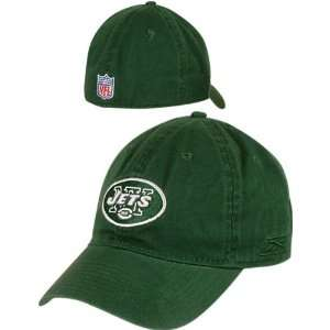 New York Jets  Green  Fitted Sideline Slouch Hat Sports