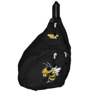 Georgia Tech Yellow Jackets Black Flyby Duffle Bag Sports