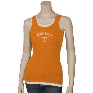 Tennessee Volunteers Ladies Orange Impact Tank Top  Sports
