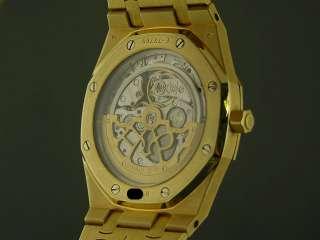 Audemars Piguet Royal Oak Jumbo 18K Solid Gold Ref 15202 $49,500 LNIB