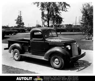 1940 GMC Model 100 Pickup Truck Factory Photo