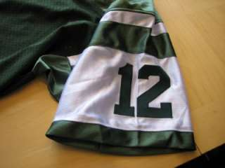 JOE NAMATH Authentic Style New York Jets Green MESH Jersey *** PLEASE