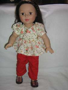 18 Doll Clothes American Girl Madame Alexander Friends Gotz Handmade