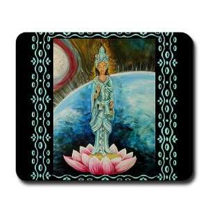 Quan Yin Religion Mousepad by CafePress: Office Products