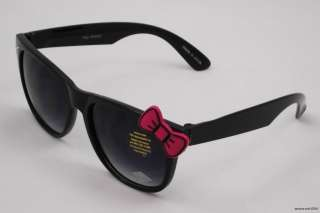 Hello Kitty Bowtie Kawaii Girl Nerdy Sunglasses Sun Glass *Spring