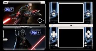 Star Wars Decal Protector Skin Sticker Cover for NDSi DSi XL LL