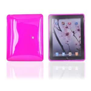for Apple iPad Silicone Case CHECKERED PLAID HOT PINK