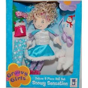 Groovy Girls Snowy Sensation Deluxe 8 Piece Doll Set Toys