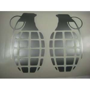 Hand Grenade vinyl decal sticker