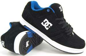 DC AMP   Mens Skate Shoes $65 (NEW  FREE SHIP) Black BMX PILL TREAD