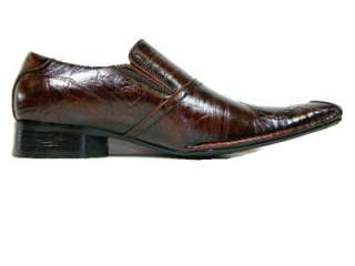 Mens Brown D ALDO Dagger Design Dress Casual Loafers Shoes Styled In
