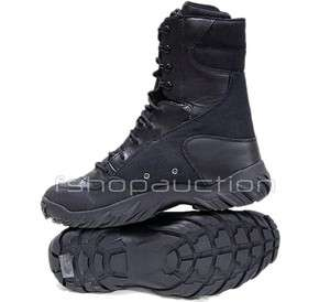 Size 10 US/41 Black SI Assault Elite Force Army Military Boots