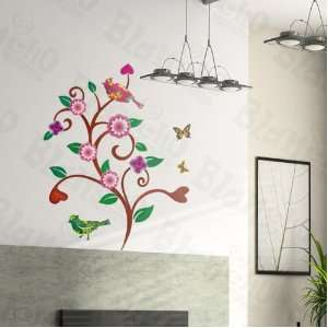 Wave Tree   Wall Decals Stickers Appliques Home Decor