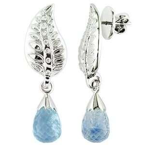 ,white diamond and white gold earrings Vanna Weinberg Jewelry