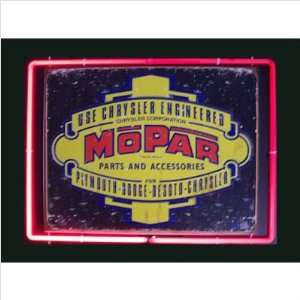 Neonetics Mopar Neon Framed Sign Mopar Neon Framed Tin