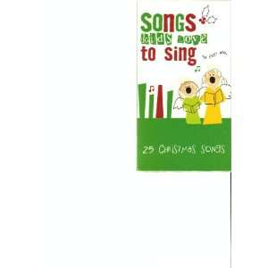 25 Christmas Songs [VHS] Songs Kids Love to Sing Movies