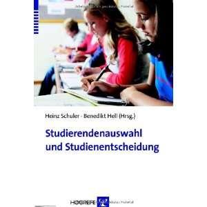 (9783801721039) Heinz Schuler Benedikt Hell Books
