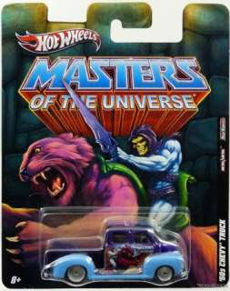 HOT WHEELS MASTERS OF THE UNIVERSE 50 CHEVY TRUCK V5229 027084959031