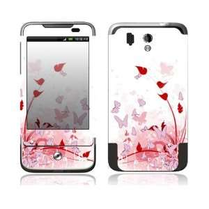 HTC Legend Decal Skin   Pink Butterfly Fantasy Everything