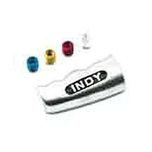Indy T Handle Shifter Knob Brushed Aluminum w/Thread Adapter Available