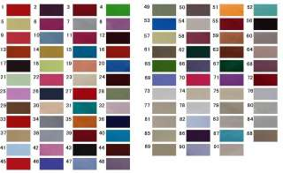 Colour Chart items in Fashion.Impression store on !