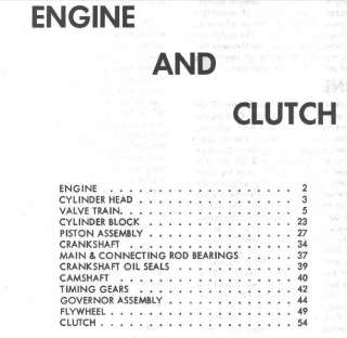 MASSEY FERGUSON DEALER SHOP SERVICE MANUAL TE 20 TO 20 TO30 MF TE20