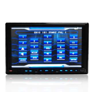 DOUBLE DIN 7 TOUCH SCREEN IN DASH CAR STEREO RADIO RDS