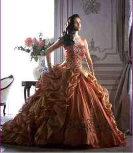 New Quinceanera Masquerade Party Evening Prom Dress Ball Gown Size