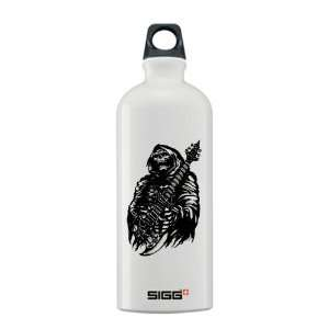 Water Bottle 0.6L Grim Reaper Heavy Metal Rock Player