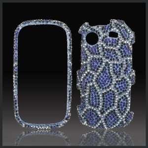 Leopard Cheetah Cristalina crystal bling case cover for