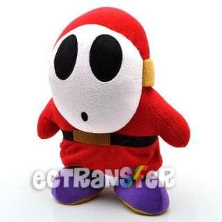 10 Super Mario Bros Shy Guy Plush Toy/MX649