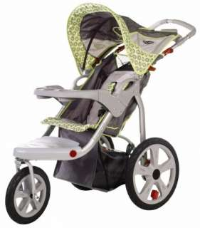 InSTEP Safari Single Swivel Wheel Baby Jogging Stroller  11 AR181