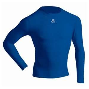 McDavid 884T Long Sleeve Compression Shirt Royal XXL