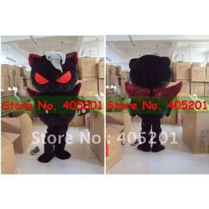red eyes black cat mascot costumes Toys & Games