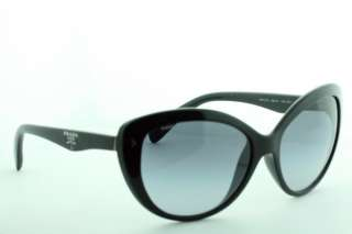 BRAND NEW PRADA SUNGLASSES SPR 21N 1AB   3MI SHINY BLACK