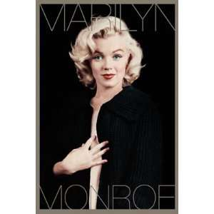 Anonymous Marilyn Monroe Black and Gold 24 x 36 Poster