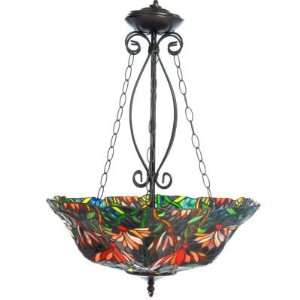 Marigold Stained Glass Hanging Lamp