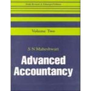 Advanced Accountancy (9780706999112): S. N. Maheshwari: Books