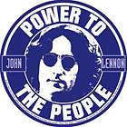 JOHN LENNON power to the people STICKER  the beatles **