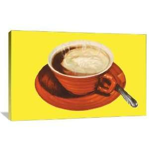 Hot Cup of Cocoa   Gallery Wrapped Canvas   Museum Quality  Size 24