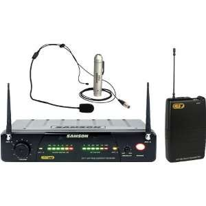 77 Wireless Microphone System with Headset Ch 1 Musical Instruments