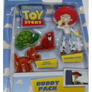 Disney Toy Story Yodeling Jessie & Critters Figures Toys