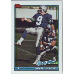 1991 Topps Football Seattle Seahawks Team Set  Sports